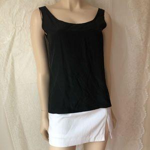 Edwards 100% Silk light Black tank/camisole